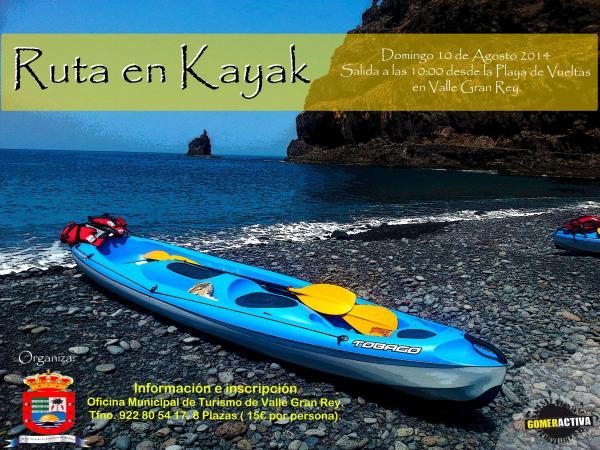 """Ruta en Mountain Bike, """"Atardecer en La Mérica"""" y una ruta en Kayak completan una atractiva propuesta para el fin de semana en Valle Gran Rey"""