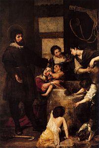 El Milagro del Pozo. Alonso Cano (1638-1640)