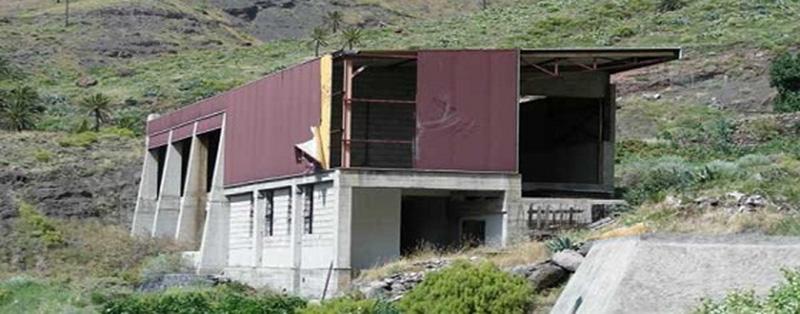 Demolición de la Embotelladora de Taguluche.