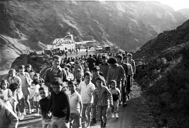 Fiesta de San Antonio 1970. Fotografía cedida por Manuel Vera Chinea