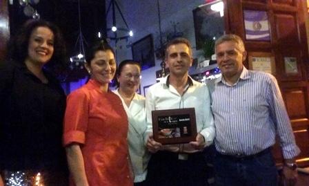 El restaurante Abisinia, ganador de la II Ruta de la Tapa de Valle Gran Rey.