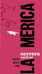 cartel carrera vertical V