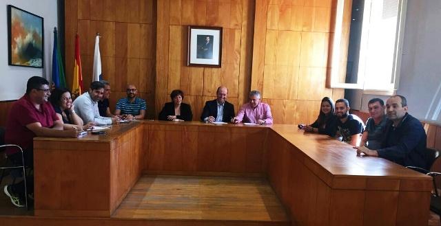 El Ayuntamiento de Valle Gran Rey logra el compromiso del Gobierno de Canarias de apoyar a los colectivos Deportivos