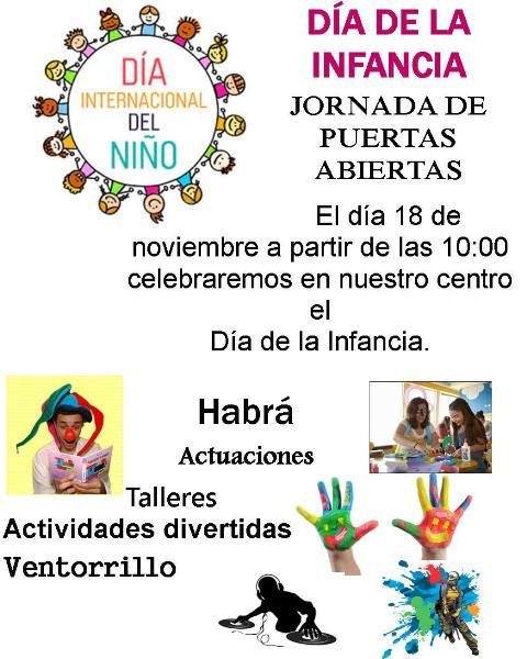 Los niños del CEO Nereida Díaz Abreu de Valle Gran Rey celebran el Día de la Infancia.