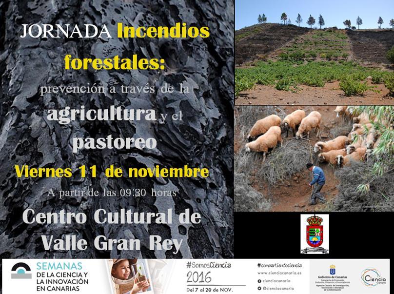 El Ayuntamiento de Valle Gran Rey organiza una jornada para prevenir los incendios forestales a través de la agricultura y la ganadería.