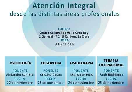 El Ayuntamiento de Valle Gran Rey organiza unas conferencias para formar a profesionales sobre el Alzheimer.