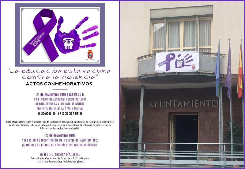 El Ayuntamiento de Valle Gran Rey organiza varias actividades para concienciar sobre la  Violencia de Género.
