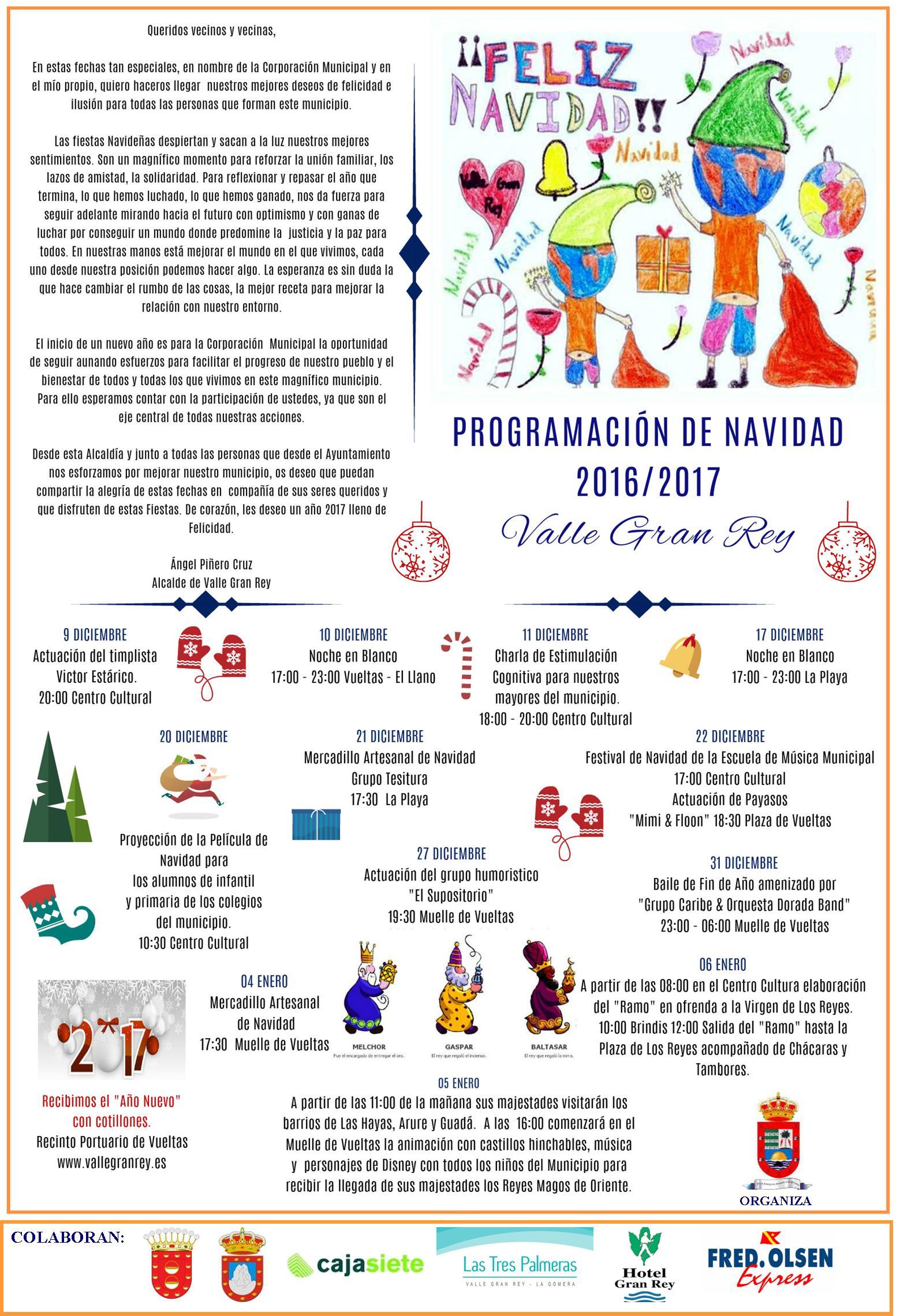 Programa de Actos de Navidad