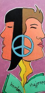 Mural Día Internacional de La Mujer