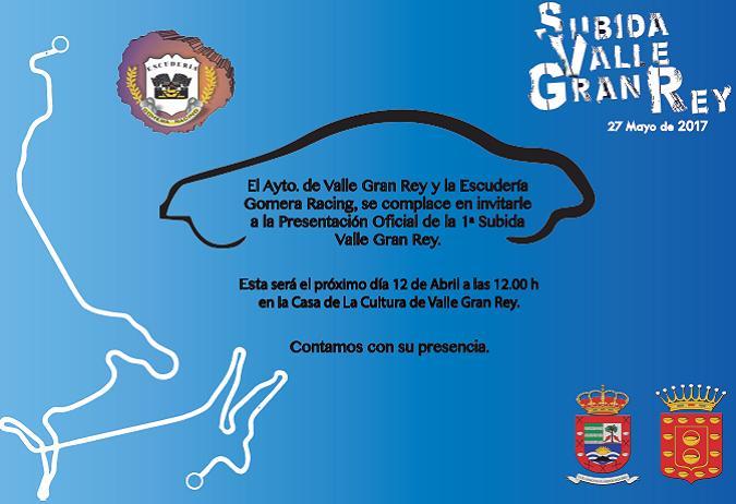 """Programa de Horarios """"I Subida Valle Gran Rey"""""""