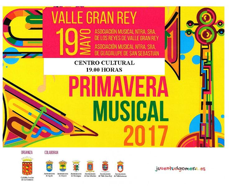 Primavera Musical , Valle Gran Rey 2017