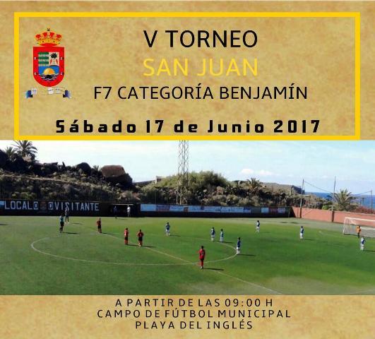 V torneo fútbol-7 benjamín San Juan 2017  en Valle Gran Rey