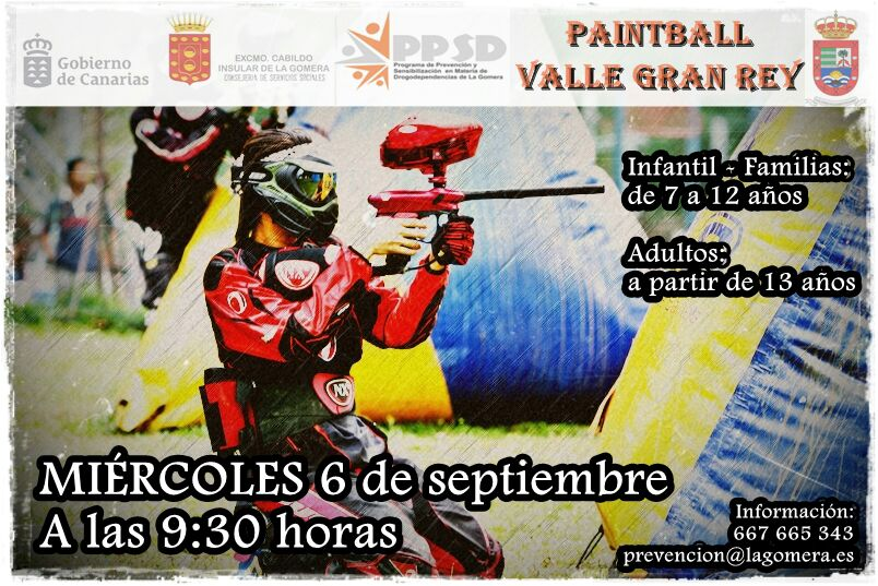 Paintball Valle Gran Rey