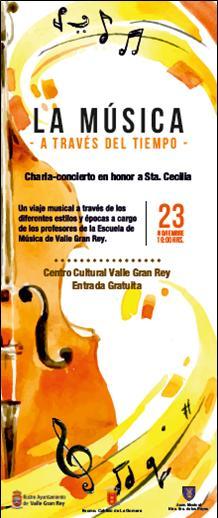 Charla concierto en honor a Santa Cecilia 2017