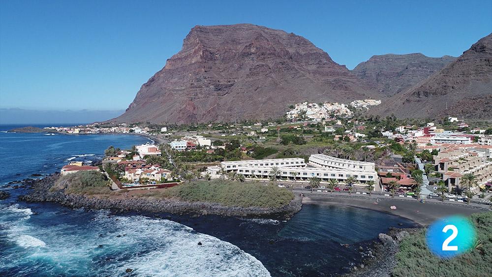 Valle Gran Rey, desde el aire, recorre el mundo gracias a un reportaje en RTVE.