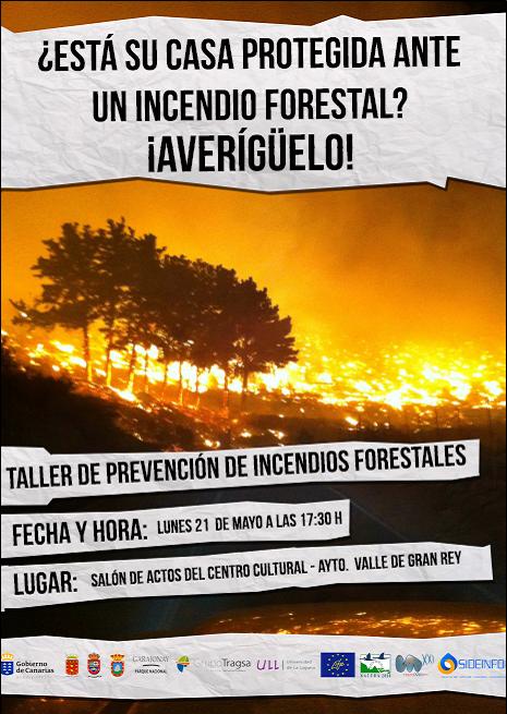 Valle Gran Rey acoge unas jornadas sobre prevención y protección de incendios