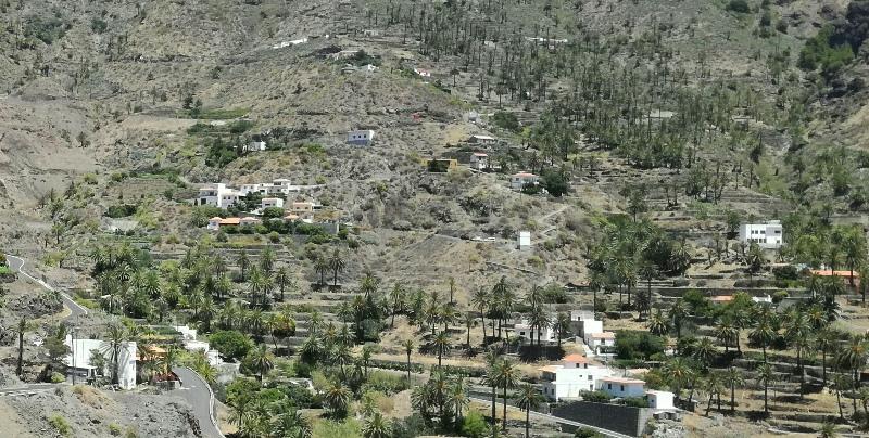 El Ayuntamiento de Valle Gran Rey ha acordado el restablecimiento de forma inmediata del suministro eléctrico en Taguluche