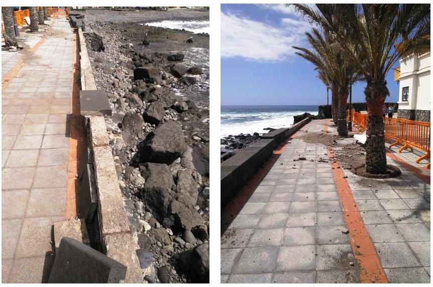 Valle Gran Rey solicita a Costas el permiso para la ejecución del proyecto del paseo marítimo