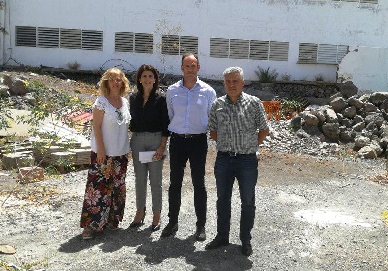 El CEIP Nereida Díaz de Valle Gran Rey contará con un nuevo comedor escolar